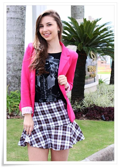 08-saia-xadrez-com-blazer-pink-sempre-glamour-look-do-dia